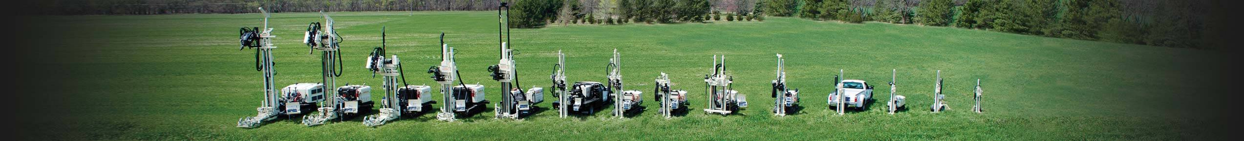 Geoprobe® Rotary Sonic and Direct Push Rigs